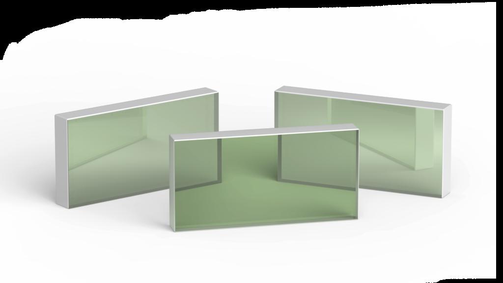 Dualband Brewster Type Thin Film Polarizers