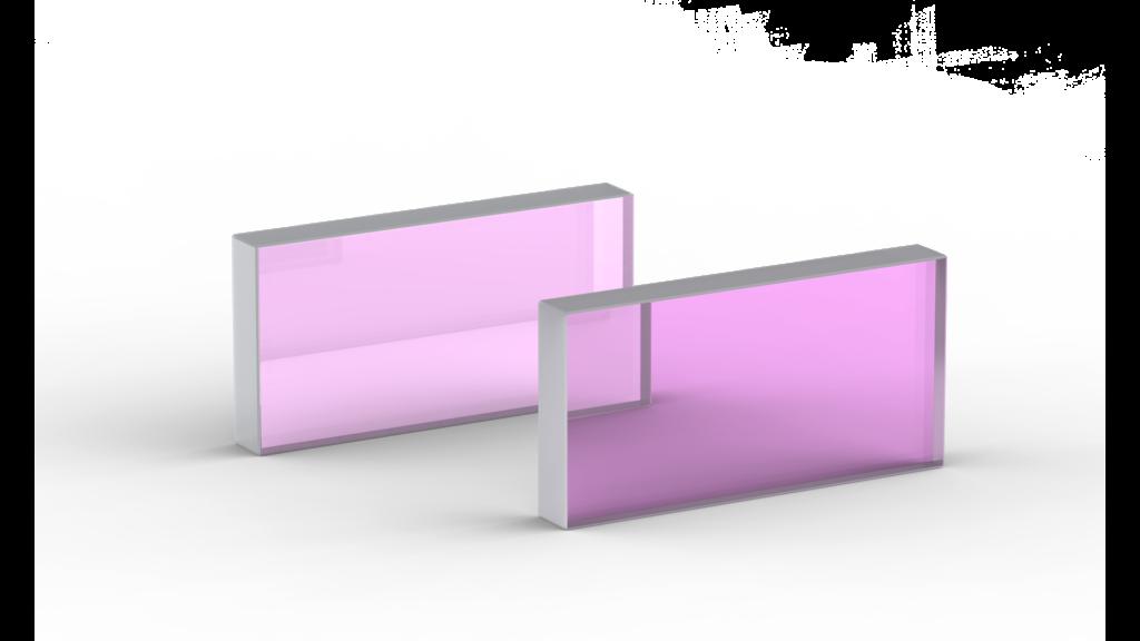 High Contrast 45° Thin Film Polarizers
